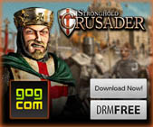 Purchase Stronghold Crusader from GOG Games.